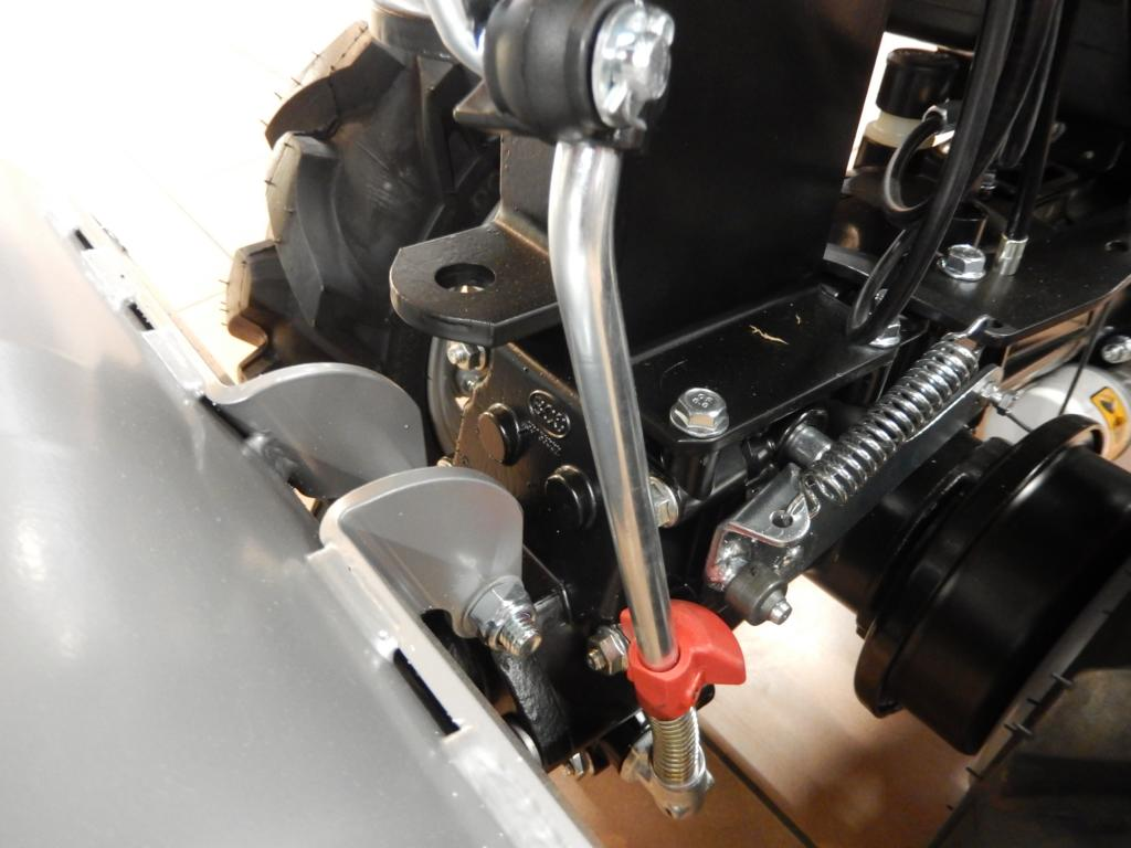 Ferrari Einachser 328 m. Honda GX270 Motor - Grundgerät