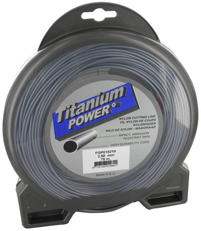 Mähfaden Titanium Power rund 3.00 mm x 56 m