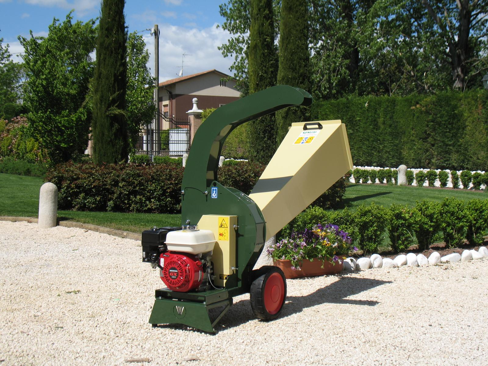 Negri Benzin-Biohäcksler R95BHHP55
